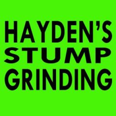 Hayden's Stump Grinding